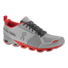 On Footwear Cloudflyer Mens Stability Glacier & Spice Running Shoes (11.1563)
