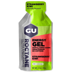 GU ENERGY Roctane Ultra Endurance Strawberry Kiwi 24-Pack Energy Gel (123070)