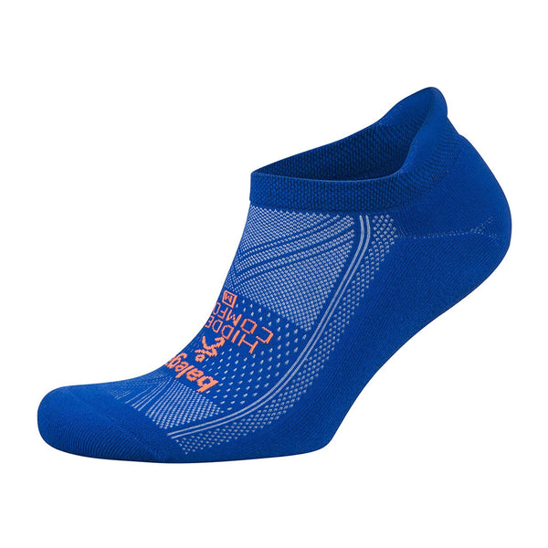 BALEGA Hidden Comfort Unisex Neon Blue Running Socks (8025-0681)