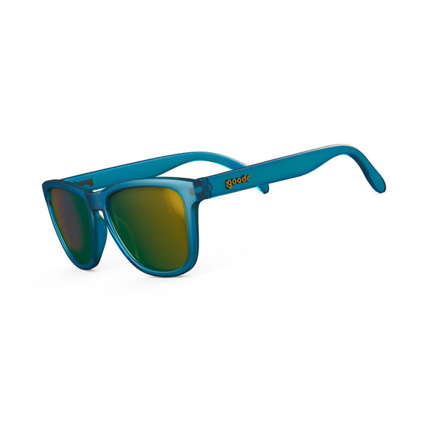 GOODR Sunbathing with Wizards Light Blue with Gold Lens Sunglasses (AJ-IFM3-SPY1)