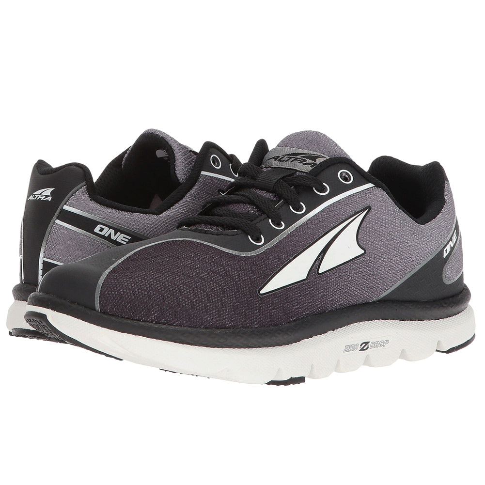 ALTRA Kids One Jr Black Running Shoe (A4623-0)
