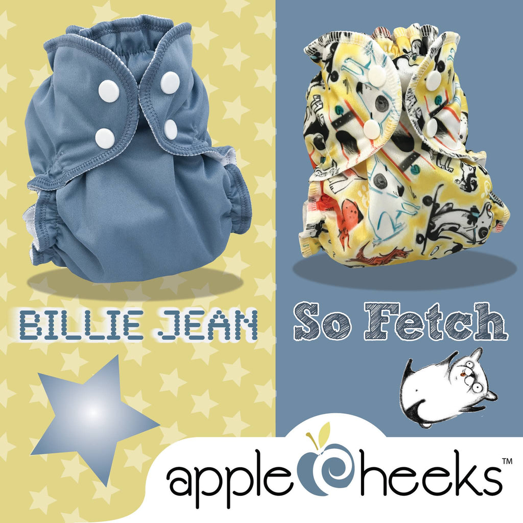 Welcome Billy Jean and So Fetch - AppleCheeks New Releases!