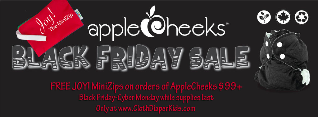 JOY! MiniZips by AppleCheeks - FREE in Black Friday Orders over $99