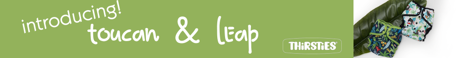 Leap & Toucan New Spring Prints From Thirsties Cloth Diapers