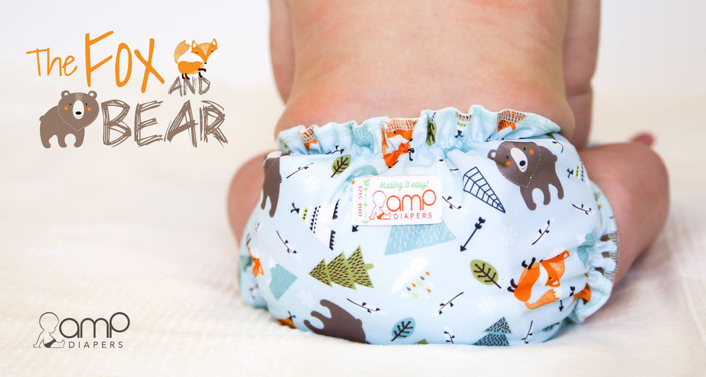 The Fox and the Bear - AMP Diapers New Print Release