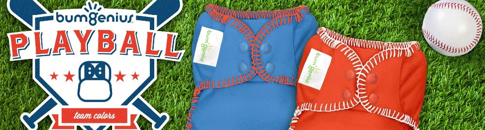 Home Run from BumGenius Diapers: Playball Series Is Here