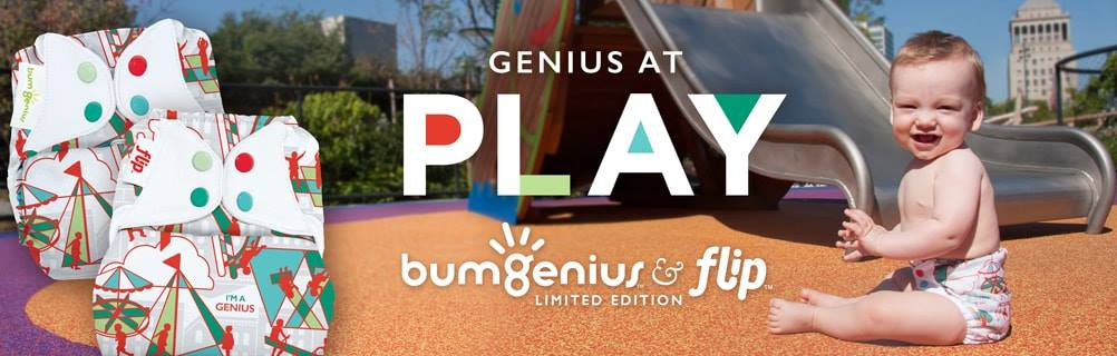 BumGenius Limited Edition Print 'PLAY'
