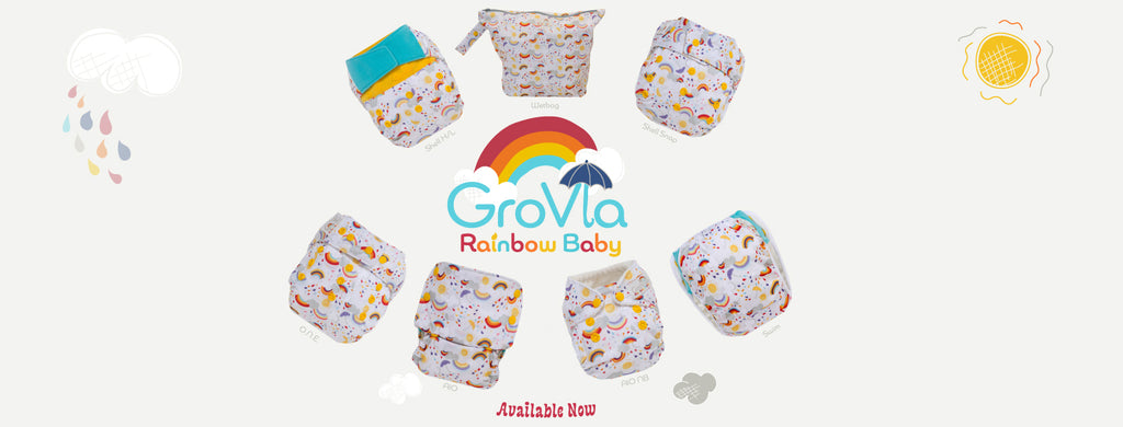 GroVia - Rainbow Baby Limited Edition Print