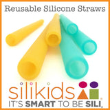 Silikids - Silicone Straws (6 Pack)
