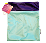 AppleCheeks Wet/Dry Zippered Storage Sacs