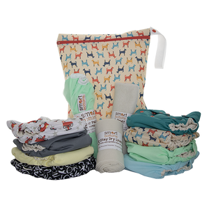 Smart Bottoms Smart Start Cloth Diaper Kit - Gender Neutral Colors