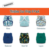 Thirsties Snap Duo Wrap 6 Pack - *Ships Free*