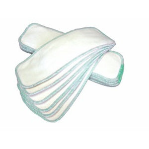 AMP Diaper Absorbency Boosters (Bamboo With Green Serging)