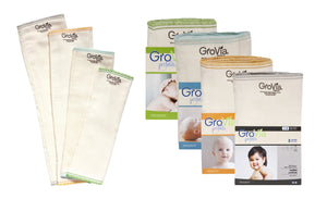 GroVia® Prefolds (3-Pack)