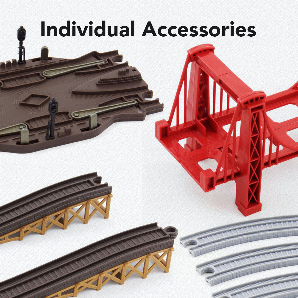 Individual Accessories for Toy Train Sets