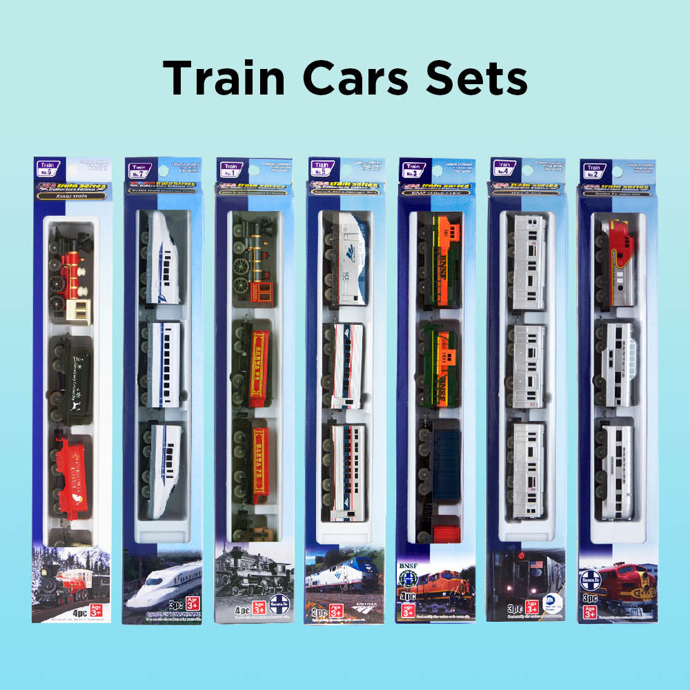 Toy Train Cars Sets