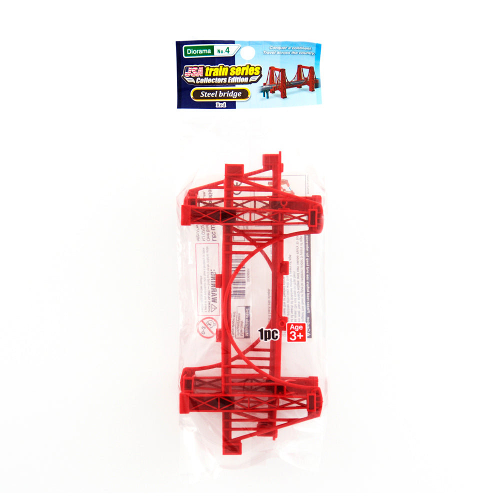 Steel bridge – Red / Diorama No. 4