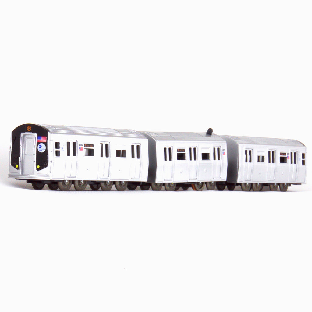 US Train MTA NY City Subway R-160 Toy Train Set / Train Cars No.4