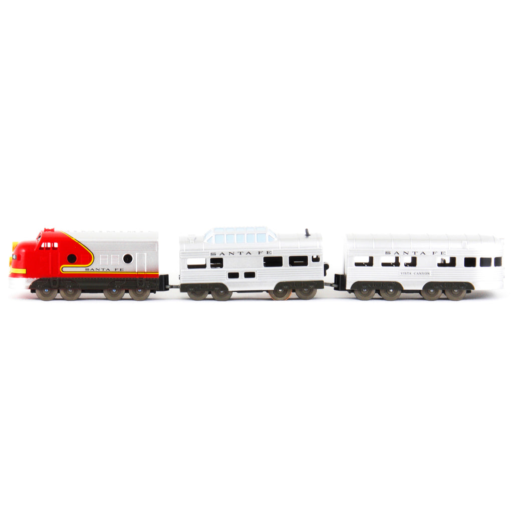 US Train Santa Fe Super Chief F7 EMD A unit / Train Cars No.2