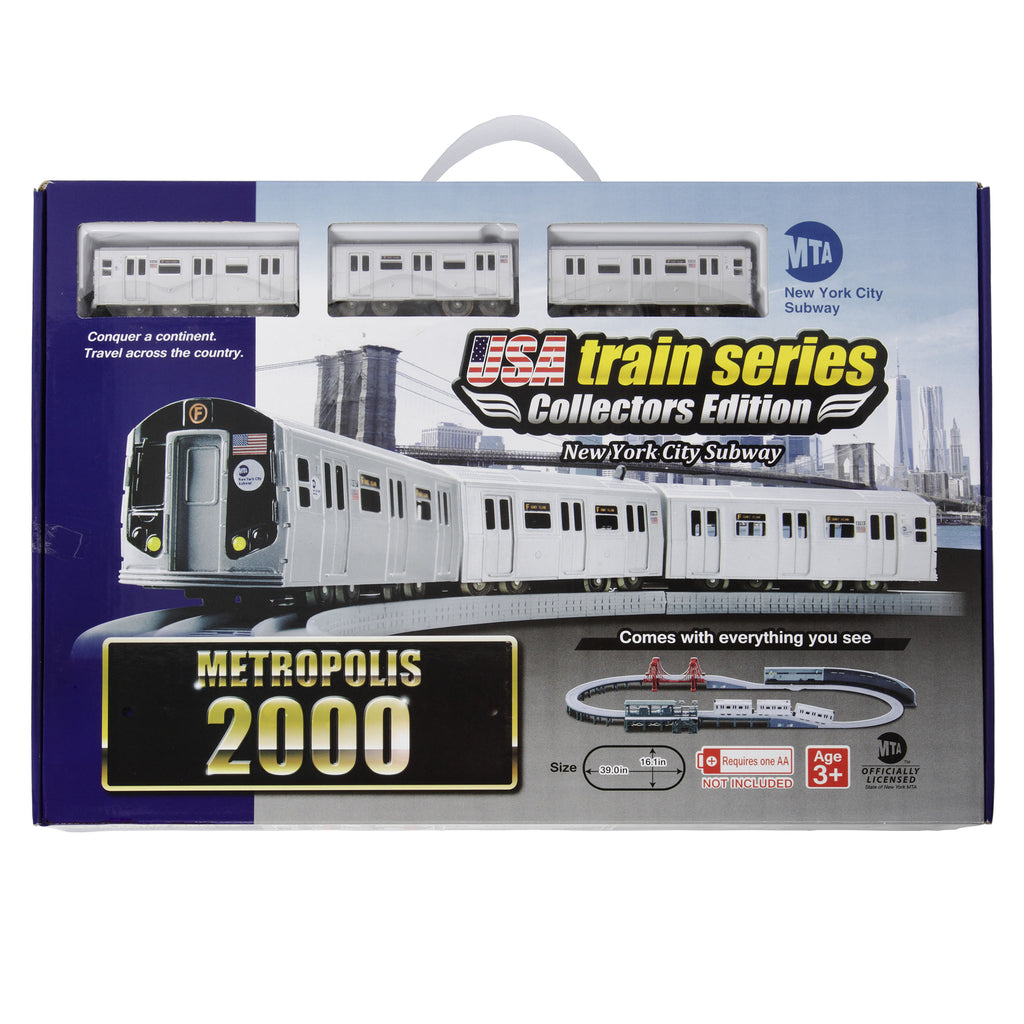 2000s MTA New York City Subway Train Set