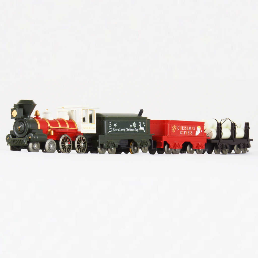 Christmas Express Steam Locomotive Set