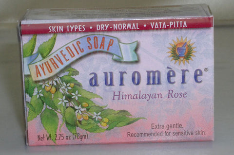Ayurvedic Himalayan Rose Soap  2.75oz Bar