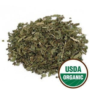Organic Lemon Balm Leaf (cut/sifted) 100 grams