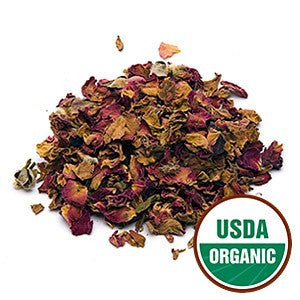 Organic Red RosePetals & Buds
