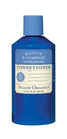 Avalon Organics Hair Care Elixirs Biotin B-Complex Thickening Conditioner 14 fl. oz