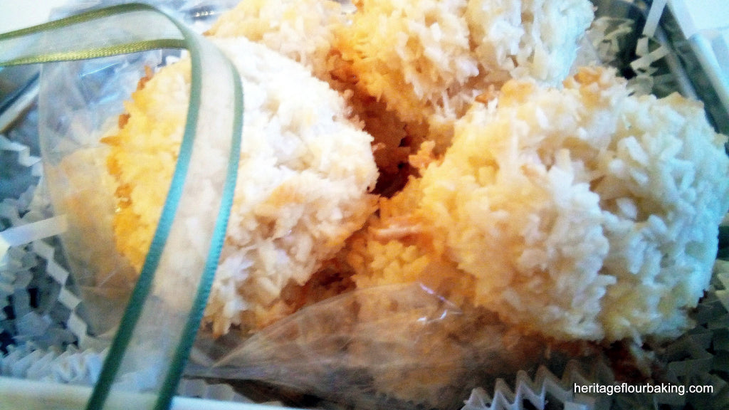 COCONUT MACAROONS: local pick-up only.  SOLD OUT, sorry!