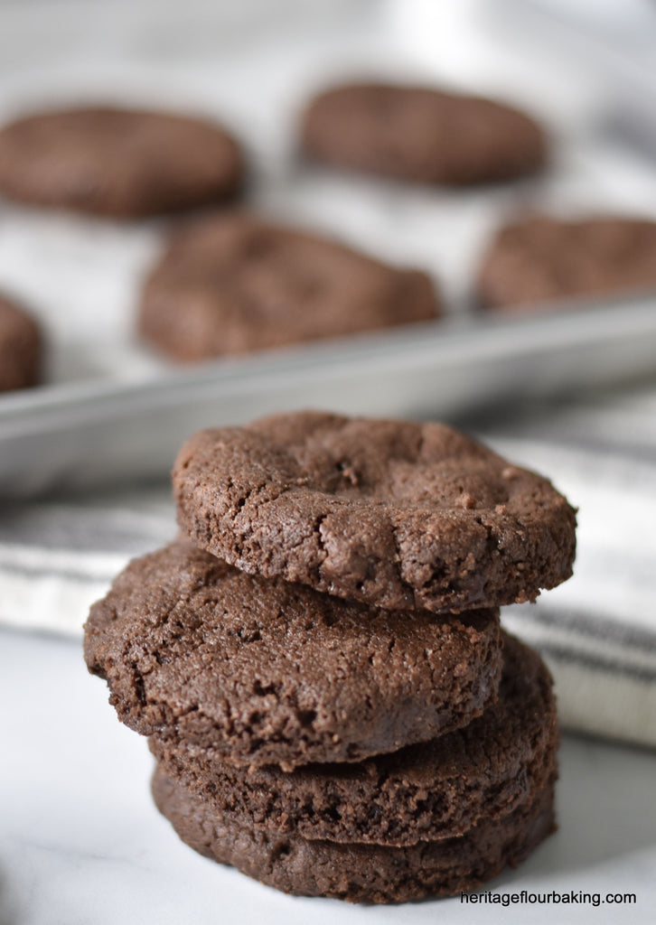 CHOCOLATE SABLÉS COOKIES: local pick-up only. Temporarily SOLD OUT. Sorry!