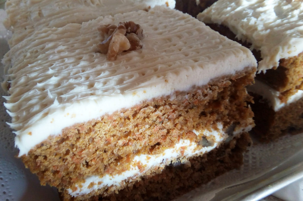 CARROT CAKE: local pick-up only