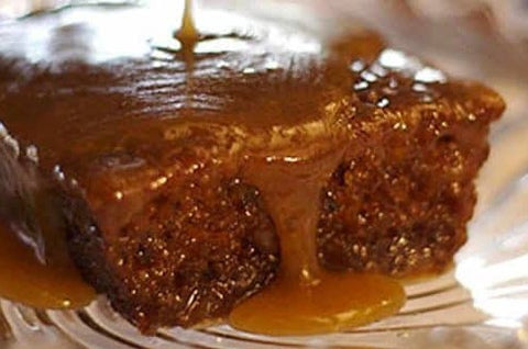STICKY-TOFFEE PUDDING: local pick-up only