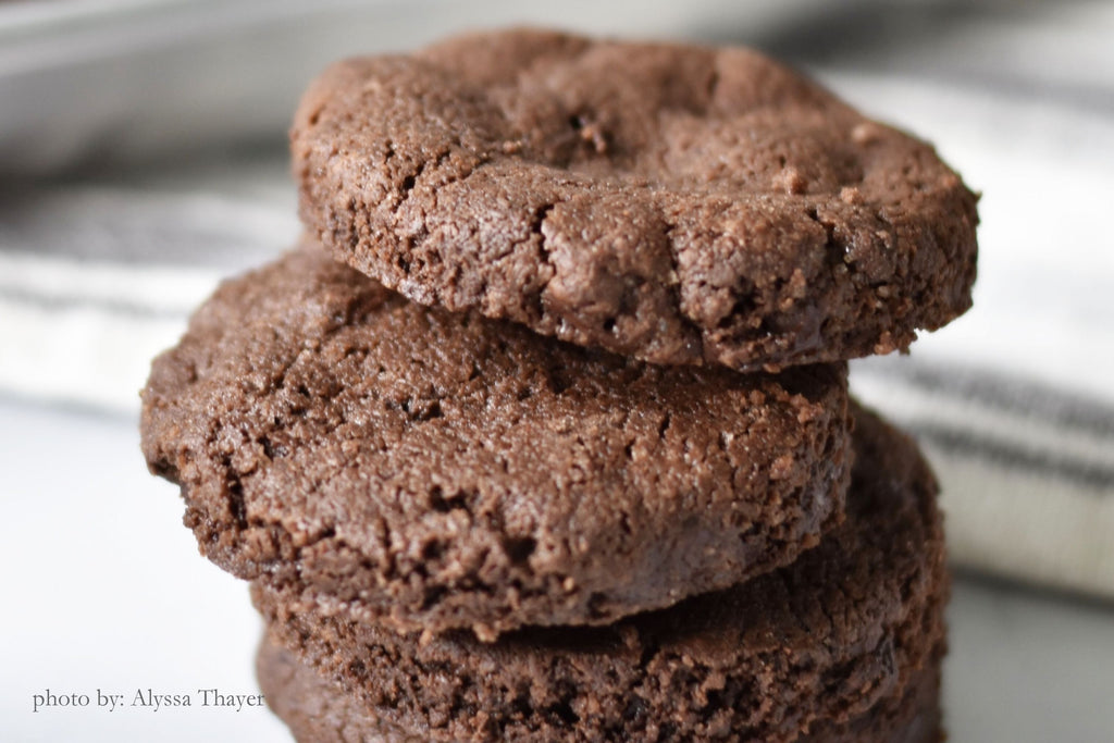 CHOCOLATE SABLÉ COOKIES