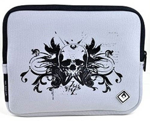 "Isis Dei Rocker ROCNEO7 Neoprene 9"" Netbook Sleeve (Grey / Black)"