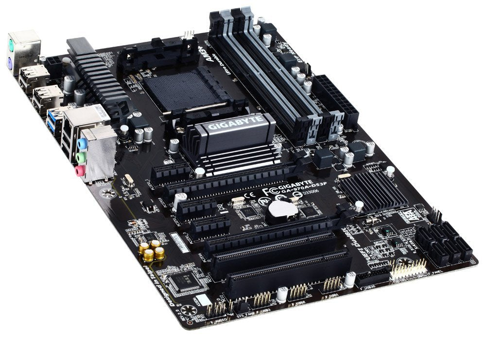 Gigabyte GA-970A-DS3P AM3+ Socket ATX Motherboard