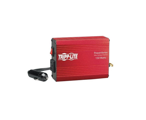 Tripp Lite 150W Car Power Inverter with 1 Outlet, Auto Inverter, Ultra Compact (PV150)