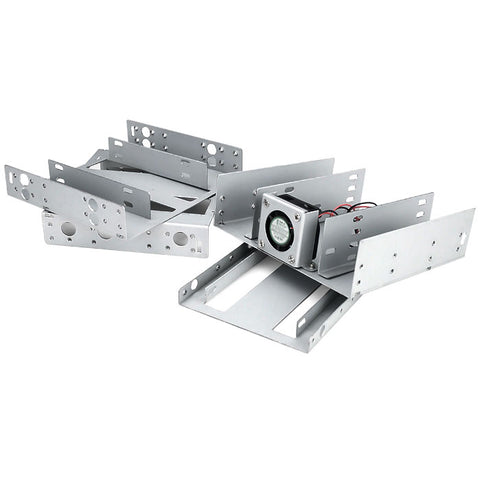 "Athena Power BRK-HD524F 5.25"" to 4x 2.5"" Hard Drive Bracket"