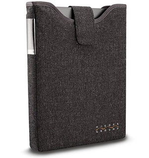 "Higher Ground 11"" DropIn Carrying Case for Notebook - Gray"