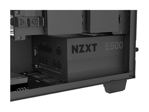 NZXT E500 - 500-Watt ATX Gaming Power Supply (PSU) - Fully Modular Design - 80 Plus Gold Certified - Silent Operation