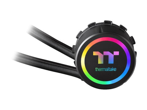 Image of Thermaltake Floe AIO Riing RGB 240 TT Premium Edition PWM TR4 LGA2066 Ready Liquid Cooling System CL-W157-PL12SW-A