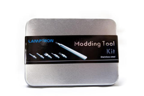 Image of Lamptron Deluxe Modding Tool Kit Silver