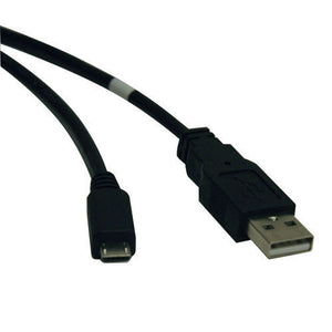 Tripp Lite U050-003 3-ft Male USB 2.0 to Male Micro USB Data Cable
