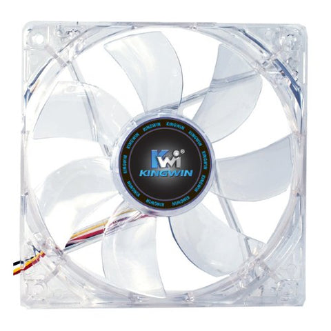 Kingwin CFR-012LB Red LED 120mm Long Life Bearing Case Fan