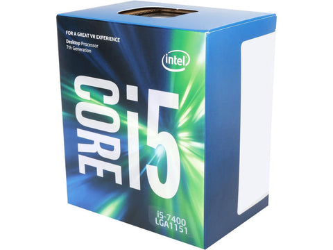 Image of Intel Core i5-7400 Quad-Core 3.0 GHz Kaby Lake LGA 1151 65W BX80677I57400 Desktop Processor