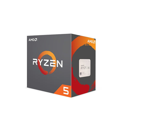 Image of AMD RYZEN 5 1600 6-Core 3.2 GHz (3.6 GHz Turbo) Socket AM4 65W YD1600BBAEBOX Desktop Processor