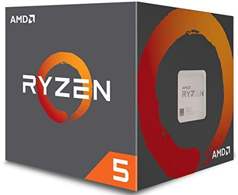 AMD RYZEN 5 1600 6-Core 3.2 GHz (3.6 GHz Turbo) Socket AM4 65W YD1600BBAEBOX Desktop Processor