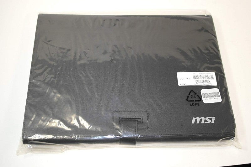 "MSI G34-N1XXX04-SI9 Faux Leather Protective Case for Slim 13"" Laptop"