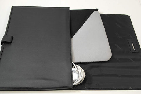 "Image of MSI G34-N1XXX04-SI9 Faux Leather Protective Case for Slim 13"" Laptop"