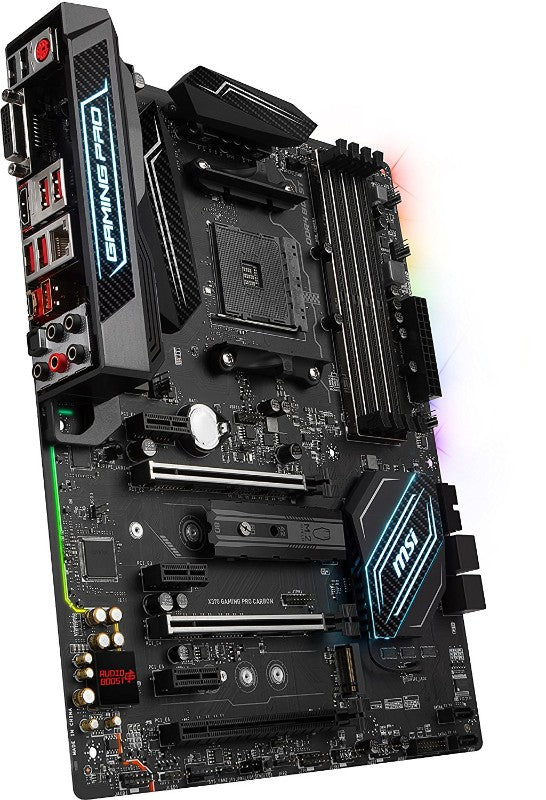 Msi X370 Gaming Pro Carbon Am4 Amd X370 Sata 6Gb/S Hdmi Atx Motherboard